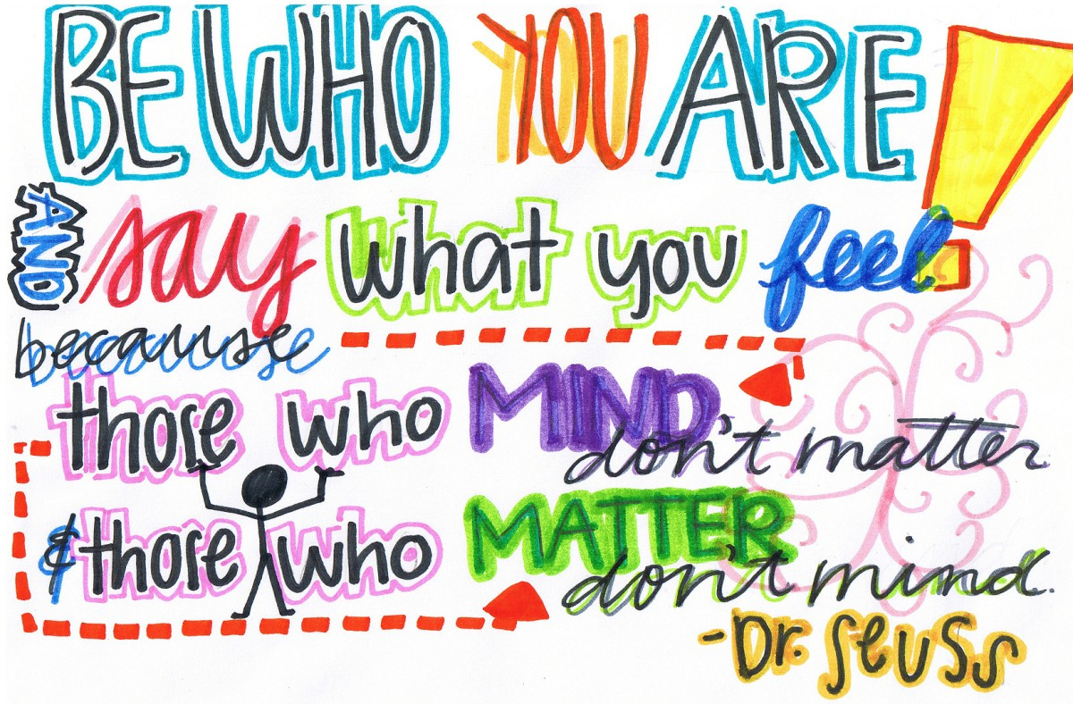 Be Who YouAre.
