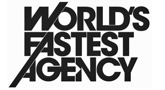 World's fastest agency @fastestagency turns a brief around in 24 hours.