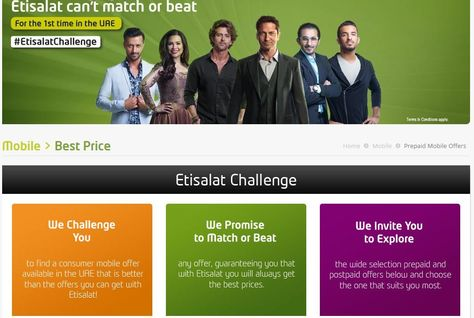 I challenge you to think positively about the #EtisalatChallenge